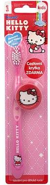 Periuță de dinți cu capac, pentru copii - VitalCare Hello Kitty  — Imagine N1