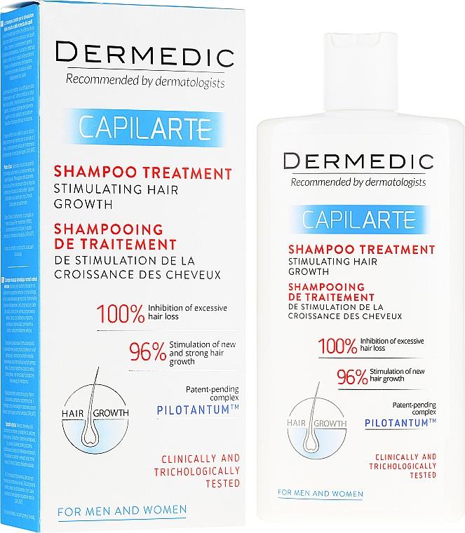 Șampon pentru stimularea creșterii părului - Dermedic Capilarte Shampoo