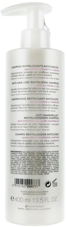 Șampon împotriva căderii părului subțire - Collistar Anti-Hair Loss Revitalizing Shampoo with Trichogen — Imagine N5
