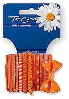 Parfumuri și produse cosmetice Elastice de păr, 12 bucăți, 22005 - Top Choice