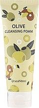 Parfumuri și produse cosmetice Spumă de curățare pentru față, cu măsline - SeaNtree Olive Cleansing Foam