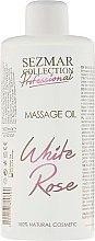 "Parfumuri și produse cosmetice Ulei pentru masaj ""White Rose"" - Hristina Cosmetics Sezmar Professional Massage Oil White Rose"