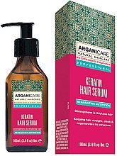 Ser cu keratină pentru păr - Arganicare Keratin Repairing Hair Serum — Imagine N1