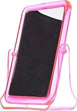 Parfumuri și produse cosmetice Oglindă cosmetică pătrată, 5299, roz - Top Choice