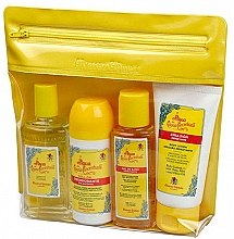 Parfumuri și produse cosmetice Alvarez Gomez Agua De Colonia Concentrada - Set (edc/80ml + sh/gel/90ml + b/lot/90ml + deo/75ml + bag)
