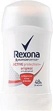 "Parfumuri și produse cosmetice Deodorant stick pentru femei ""Active Shield"" - Rexona Woman MotionSense Active Protection+ Original Anti-Perspirant"