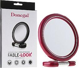 Parfumuri și produse cosmetice Oglindă cosmetică pe suport 12 cm, 9504, roz - Donegal Mirror