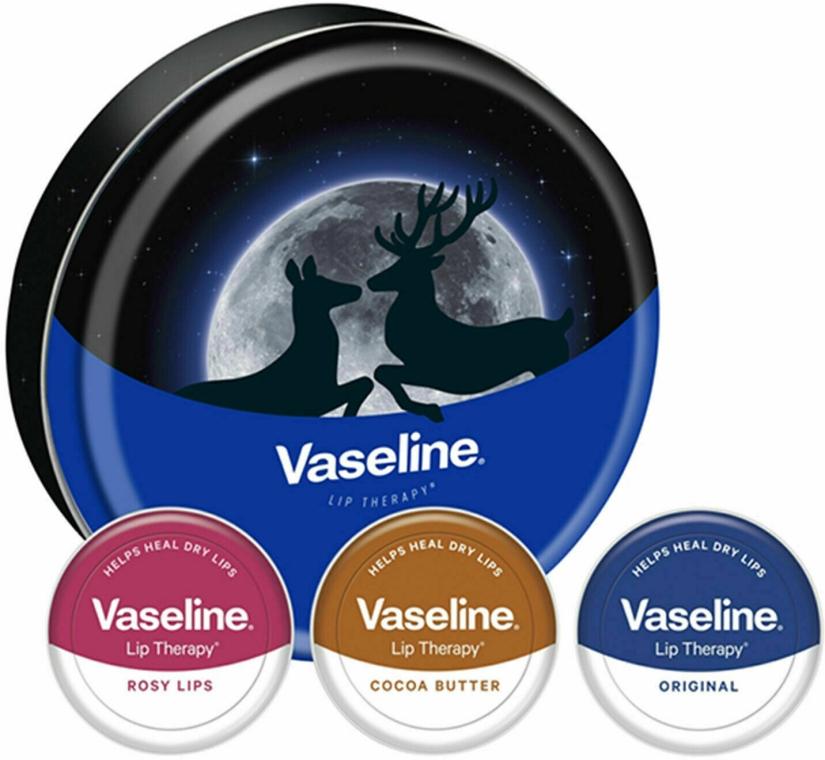Set - Vaseline Lip Therapy Selection (balm/3x20g) — Imagine N1