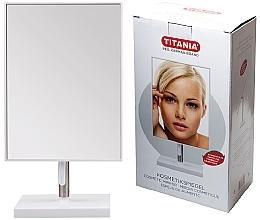 Parfumuri și produse cosmetice Oglindă cosmetică, 16x30 cm, pe suport metalic - Titania