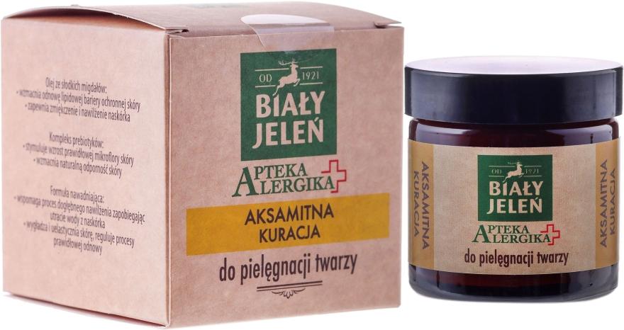 Cremă pentru o îngrijirea catifelată a feții - Bialy Jelen Apteka Alergika Cream-Care For Face