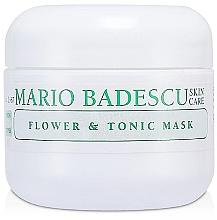 Parfumuri și produse cosmetice Mască de față - Mario Badescu Flower & Tonic Mask