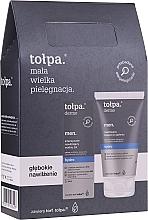 Parfumuri și produse cosmetice Set - Tolpa Dermo Men Hydro (a/sh/balm 125 ml + f/gel 75 ml)