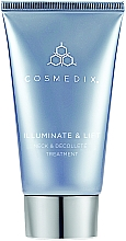 Parfumuri și produse cosmetice Cremă pentru gât și decolteu - Cosmedix Illuminate Lift Neck Decollete Treatment