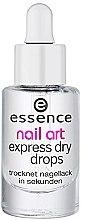 Parfumuri și produse cosmetice Picături pentru uscare rapidă - Essence Circus Circus Nail Art Express Dry Drops