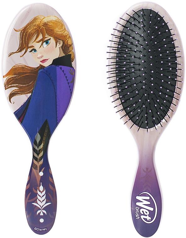 Perie de păr - Wet Brush Disney Frozen II Anna Original Detangler — Imagine N2