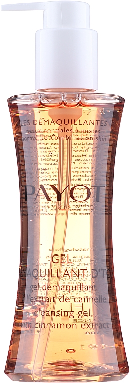 Gel de curățare cu extract de scorțișoară - Payot Les Demaquillantes Cleansing Gel With Cinnamon Extract