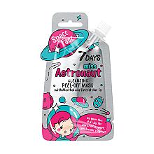 """Parfumuri și produse cosmetice Mască-peliculă """"Miss astronaut"""" cu mentol și gheață spațială - 7 Days Space Face"""