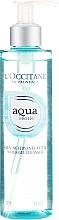 Parfumuri și produse cosmetice Gel de curățare pentru față - L'Occitane Aqua Reotier Water Gel Cleanser