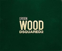 Parfumuri și produse cosmetice Dsquared2 Green Wood Pour Homme - Set (edt/50ml + sh/gel/50ml + ash/balm/50ml)