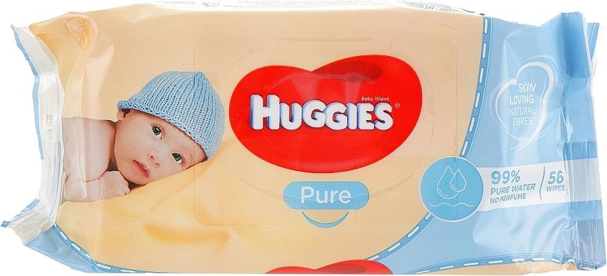 Șervețele umede pentru copii, Pure 56 bucăți - Huggies