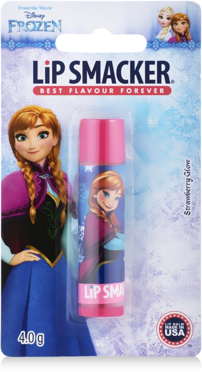"Balsam de buze ""Frozen Strawberry"" - Lip Smacker Frozen Strawberry Shake Caring Lip Balm — Imagine N1"
