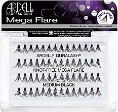Parfumuri și produse cosmetice Extensii gene - Ardell Duralash Knot Mega Flare Medium Black