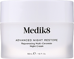 Parfumuri și produse cosmetice Cremă de noapte anti-îmbătrânire cu ceramide - Medik8 Advanced Night Restore Rejuvenating Multi-Ceramide Night Cream
