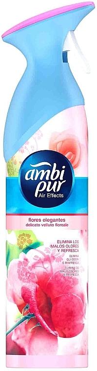 "Odorizant aer ""Flori și briză"" - Ambi Pur Air Freshener Spray Flowers & Breeze — Imagine N1"