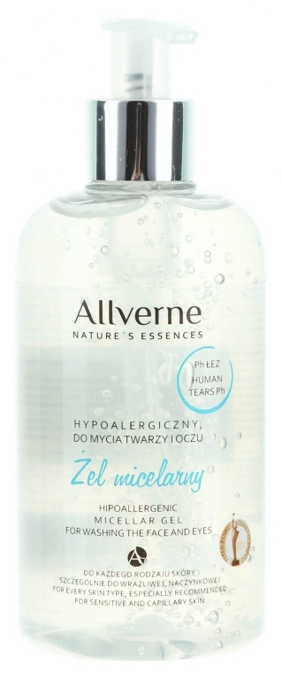 Gel mielar hipoalergenic - Allverne Nature's Essences Micellar Gel
