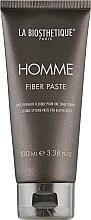 Parfumuri și produse cosmetice Fiber pastă pentru păr, cu efect de strălucire - La Biosthetique Homme Fiber Paste