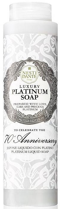 """Săpun lichid """"Platinum luxos"""" - Nesti Dante Luxury Platinum Soap"""