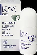 Parfumuri și produse cosmetice Deodorant Roll-On pentru bărbați - Bema Cosmetici Bema Love Bio Deo Biofresh Roll-On