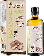 Parfumuri și produse cosmetice Ulei regenerant de păr - Kosswell Professional Macadamia Oil