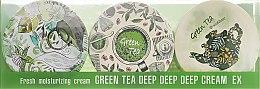 Parfumuri și produse cosmetice Set - SeaNtree Green Tea Deep Deep Deep Cream EX 3 in 1 Set-1 (h/cr/3x35g)