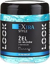 Parfumuri și produse cosmetice Gel ultra puternic cu pantenol pentru păr - Pharma CF Extra Style