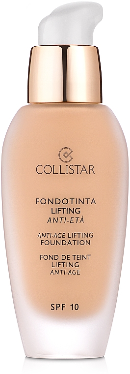 Bază- lifting pentru machiaj - Collistar Anti-Age Lifting Foundation