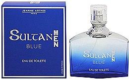 Parfumuri și produse cosmetice Jeanne Arthes Sultan Blue for Men - Apă de toaletă