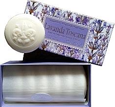 """Parfumuri și produse cosmetice Set săpunuri de toaletă """"Lavandă"""" - Saponificio Artigianale Fiorentino Lavender Toscana (Soap/6x50g)"""