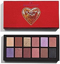 Parfumuri și produse cosmetice Paletă de farduri de pleoape - Makeup Revolution Dragon's Heart Eyeshadows Palette