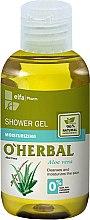 Parfumuri și produse cosmetice Gel hidratant de duș cu extract de aloe vera - O'Herbal Moisturizing Shower Gel (mini)