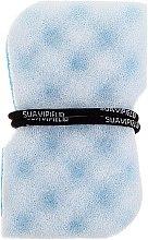 Parfumuri și produse cosmetice Burete de baie, albastru - Suavipiel Black Aqua Power Massage Sponge