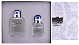Parfumuri și produse cosmetice Dolce&Gabbana Light Blue pour Homme - Set (edt/125ml + edt/40ml)