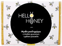 Parfumuri și produse cosmetice Săpun peeling cu polen de albine și miere - Lullalove Exfoliating Soap Bar With Honey