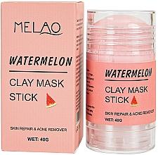 Parfumuri și produse cosmetice Mască-stick pentru față, cu extract de pepene verde - Melao Watermelon Clay Mask Stick