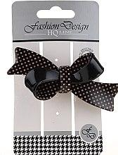 Parfumuri și produse cosmetice Agrafă pentru păr, neagră - Top Choice