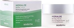 Parfumuri și produse cosmetice Cremă hidratantă pentru față - SesDerma Laboratories Hidraloe Moisturizing Face Cream