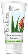 Parfumuri și produse cosmetice Gel de spălare - AVA Laboratorium Pure & Free Face Wash