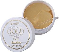 Parfumuri și produse cosmetice Patch-uri Premium cu aur și EGF - Petitfee & Koelf Premium Gold & EGF Eye Patch