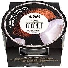 Parfumuri și produse cosmetice Lumânare parfumată - House of Glam Black Coconut Candle (mini)