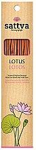 """Parfumuri și produse cosmetice Bețișoare aromatice """"Lotus"""" - Sattva Lotus"""